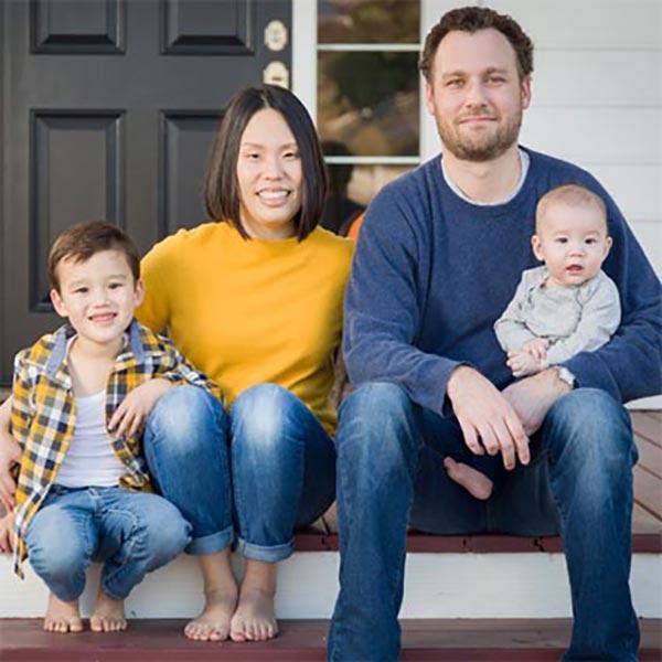 USDA Loan image of a family